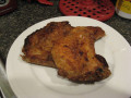 Oven Fried Pork Chops - Italian Style