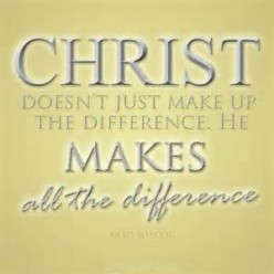 Christ Makes the Difference (Poem)