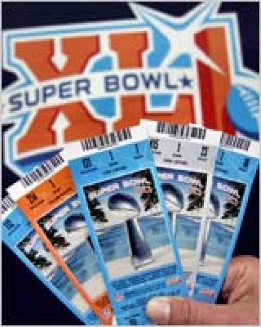 Super Bowl tickets are in great demand.