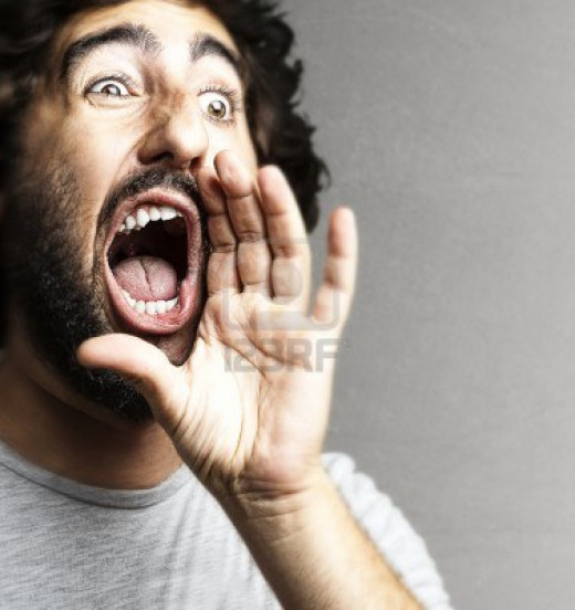 Shouting can be severely damaging to your singing voice. Voice Lessons Online can show you alternative techniques to help you avoid shouting or yelling and help you heal your voice from damage caused by previous practices.