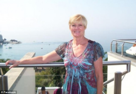 Katherine Reddick, co-wrote the obituary, shown here in her Facebook profile page and published on The Daily Mail website, a UK newspaper