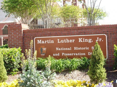 Martin Luther King Jr. Historic Site - A place I would love to visit one day.  Public Domain