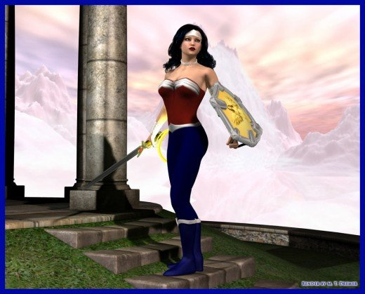 Wonder Woman New 52 Pants In Defense of S...