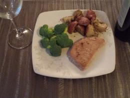 Easy Baked Boneless Pork Loin Chops with Rosemary Garlic Potatoes