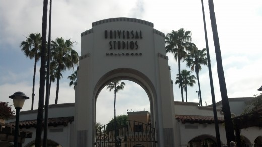 The Main Entrance to Universal Studios Hollywood