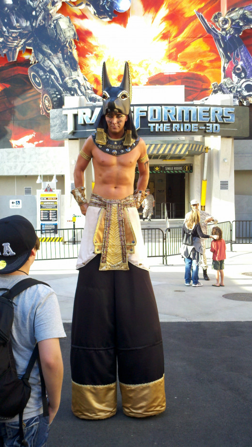 A Mummy Guard in The Lower Lot