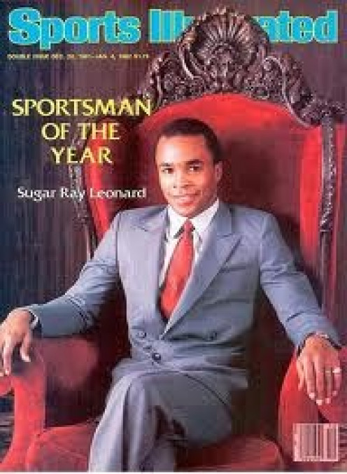 Sugar Ray Leonard was an Olympic gold medalist, 5 division champion boxer and a household name in the 1970s and 1980s.