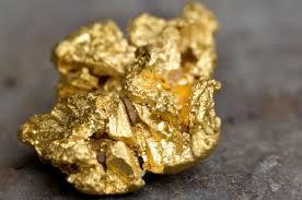 The precious metal, gold