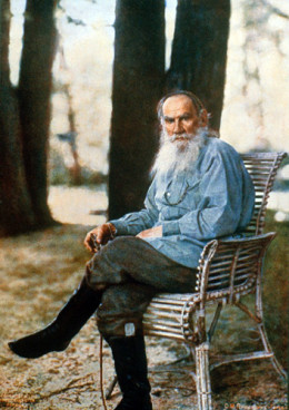 Tolstoy: influenced Gandhi and Martin Luther King