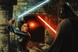 Princess Leia Wields A Light Saber - Part Two....