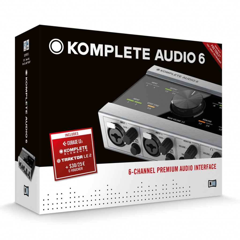 native instruments komplete audio 6 audio interface review. Black Bedroom Furniture Sets. Home Design Ideas