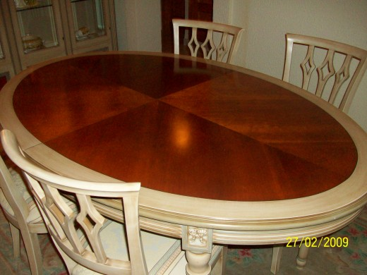 Solid cherrywood table