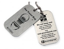 Geocaching travel bugs