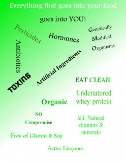 46 Trillion - 100 Trillion Reasons to Eat Clean, Healthy, Optimal Nutrition