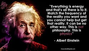 law of attraction and einstein