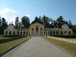 Palladio's Villa Barbero in Veneto, Italy