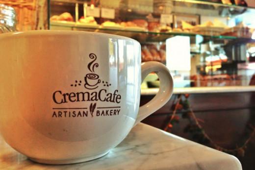 CreamCafe a yummy bakery as well as various entres.