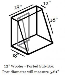 """12"""" Woofer Sub-Box"""