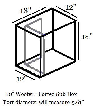 """10"""" Woofer Sub-Box"""