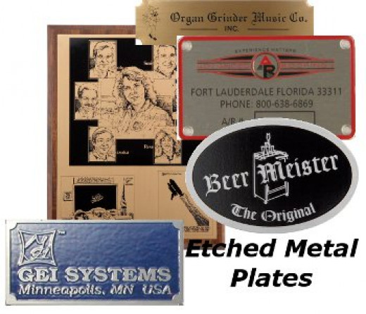 Etched Metal Plates
