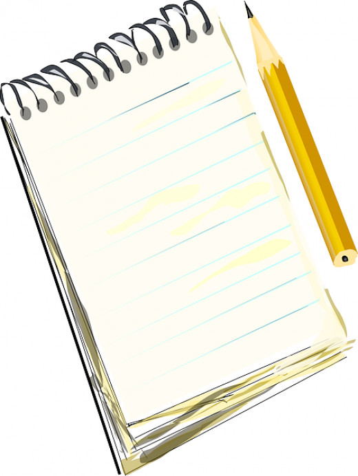 Bring a notebook with you to record your feedback from university lecturer.