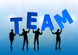The more people in a team, the harder it will be.