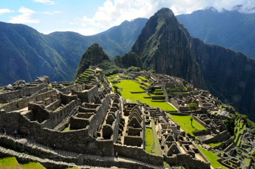 The 15th Century Inca Site, Machu Picchu.