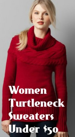 Buying Tips for Cheap Women Turtleneck Sweaters Under $50