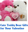 Cute Teddy Bear as Valentine's Day Gift for Your Girlfriend