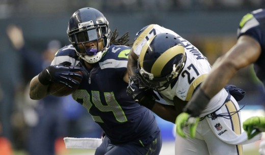 "The Seahawks are hoping running back Marshawn Lynch can activate ""Beast Mode"" early in their matchup with the Niners"