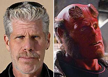 Ron Perlman is Hellboy!!
