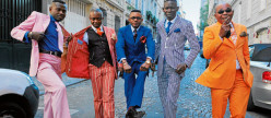 Elegantly Dressed Men: The Sapeurs