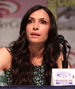 Famke Janssen at WonderCon, Anaheim, in 2013