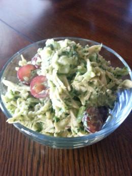 Curried Spinach Chicken Salad