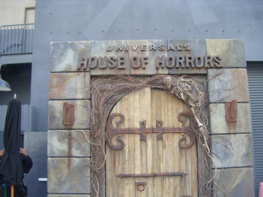 The House of Horrors at Universal Studios Hollywood
