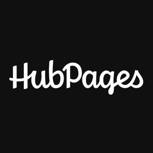 HubPages logo, copyright HubPages