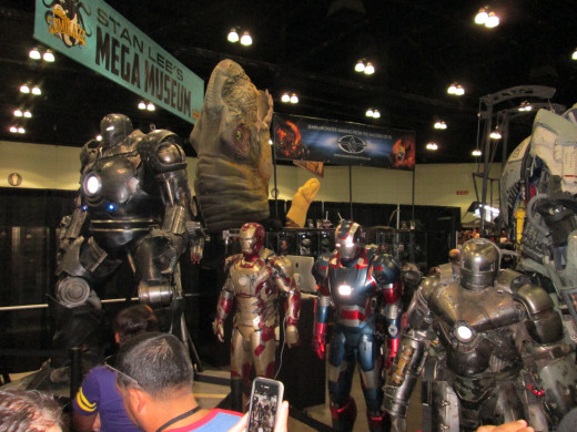 Marvel Movie Props at Stan Lee's Comikaze
