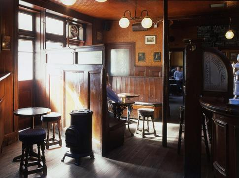 The Holly Bush - pub at Hampstead.