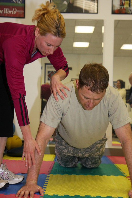 Being a personal trainer can be a rewarding career