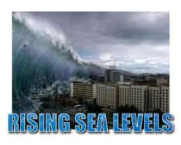 Rising Sea Levels will create human migration inland to tightly packed urban centers where populations can more easily be controlled.