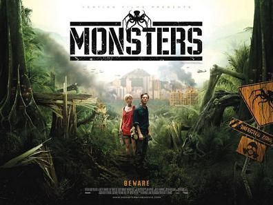 Monsters' UK promo poster