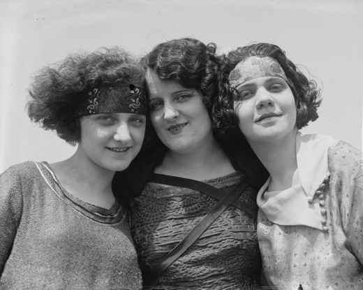 Three Women, 1923