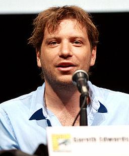 Gareth Edwards at 2013 San Diego Comic Con