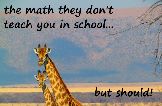 Two giraffes discussing the Navier-Stokes equation. (Image courtesy of Pixabay)