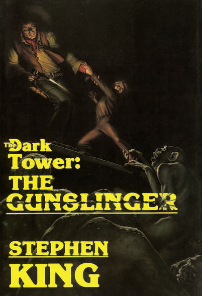 Michael Whalen's original cover for the Gunslinger