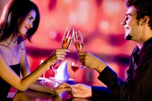 Plan a lover's evening at home