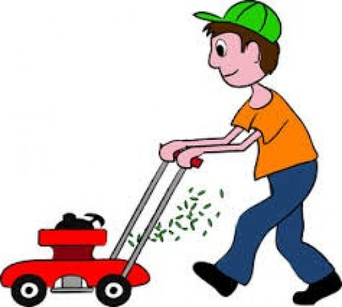 Doing chores such as cutting grass is a great way to help out in a dual household. Always split the chores and the bills up.