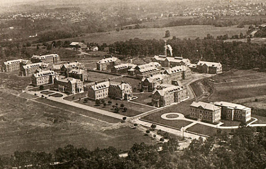 Pennhurst State School and Hospital in 1934
