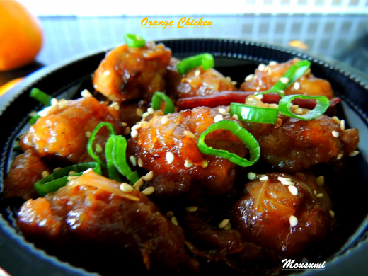 Yummy Seasonal Orange Chicken