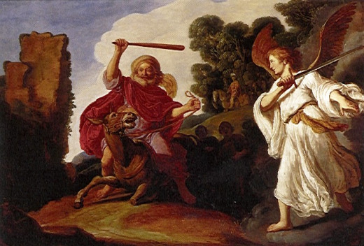 "'Balaam and the Ass"" by Pieter Lastman"